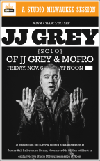 JJ Grey Solo Ticket Giveaway
