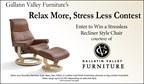 Gallatin Valley Furniture's Relax More, Stress Less Contest