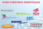 $1000 Christmas Sweepstakes Sample Promotion