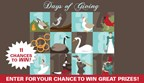 Days of Giving Sweepstakes