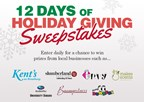 12 Days of Holiday Giving Sweepstakes