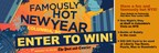 Win a Prize Package for Famously Hot New Year!