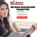To Win Dinner Backstage With Casadee Pope