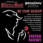 Beauty and the Beast - Ticket Giveaway
