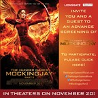 MH- Mocking Jay Movie Contest