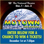 MOTOWN THE MUSICAL GIVEAWAY