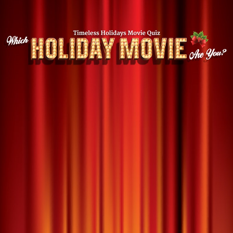 Timeless Holidays: Which Holiday Movie are you?