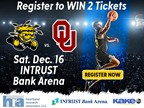 WSU vs OU Basketball Ticket Giveaway