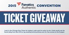 Sports Fanatic Convention Ticket Giveaway