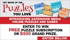 GateHouse Media Puzzles and Games Sweepstakes