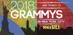WIN TICKETS TO THE 2018 GRAMMY AWARDS IN NYC!