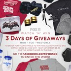 THREE DAYS OF GIVEAWAYS