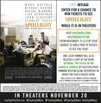 Spotlight Movie Ticket Giveaway