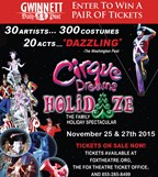 Win tickets to Cirque Dreams Holidaze