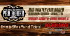 Acadiana Dodge's Mid-Winter Fair Rodeo Giveaway