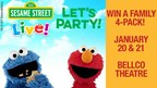 WIN a Family 4- Pack of Tickets to Sesame Street Live! Let's Party!