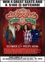 Win Tickets to the Oak Ridge Boys' Concert
