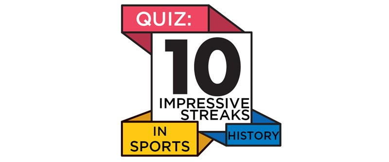 QUIZ: 10 impressive streaks in sports history