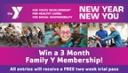 Pocono Family YMCA New Year New You Sweepstakes