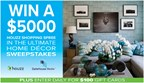 The $5000 Ultimate Home Decor Sweepstakes