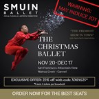 Win a 4-pack to Smuin Ballet's: The Christmas Ballet