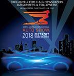 2018 Auto Show Exclusive Contest