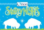 2015 Orion Starry Nights Ticket Giveaway