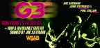 Win tickets to see G3 and an Guitar Signed by the members of G3