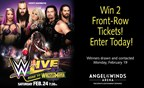 Win Front Row Tickets to WWE Live