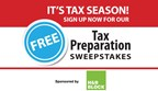 Tax Preparation Sweepstakes