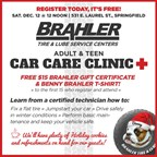Brahler Tire & Lube Center's December Car Care Cli