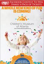 Win tickets to Children's Museum of Atlanta
