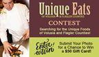 Unique Eats Photo Contest