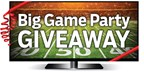 2018 Big Game Party Giveaway
