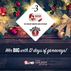 12 Day Holiday Giveaway: Day 3