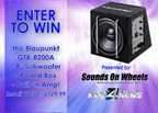 Sounds on Wheels Subwoofer Giveaway