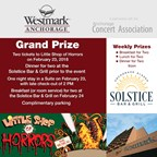 Westmark Anchorage Hotel's Little Shop of Horrors Weekend Getaway Contest