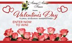 Valentine's Day Floral Giveaway Sweepstakes