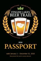 2016 Finger Lake Beer Trail Passport Giveaway