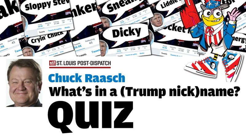 Chuck Raasch QUIZ: What's in a (Trump nick)name?