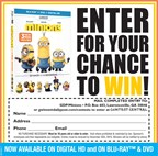 Win the DVD of Minions