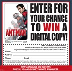 Win the DVD of Ant Man