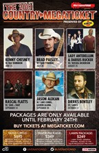 Country Megaticket 2018