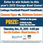 MH- Orange Bowl Playoff Contest