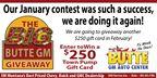 Big Butte GM February Contest