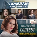 News with a Twist New Orleans Comic Con 2016 Agent