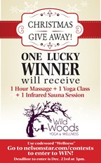Wild Woods Yoga & Wellness Package GIVE AWAY