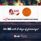 12 Day Holiday Giveaway: Day 11
