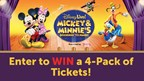 Enter to WIN Tickets to Disney Live! Mickey & Minnie's Doorway to Magic!