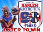 Harlem Globetrotter Ticket Giveaway 2016
